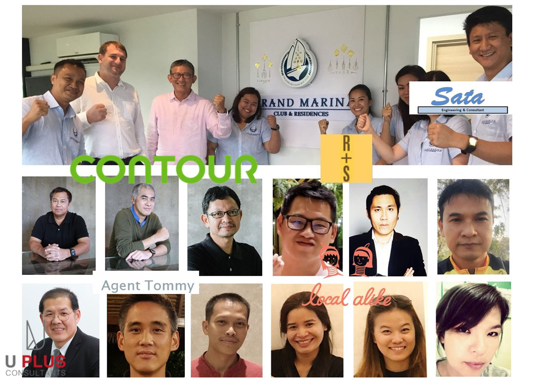 team and partners grand marina pranburi