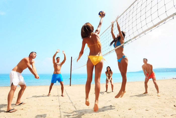 beach volleyball thailand