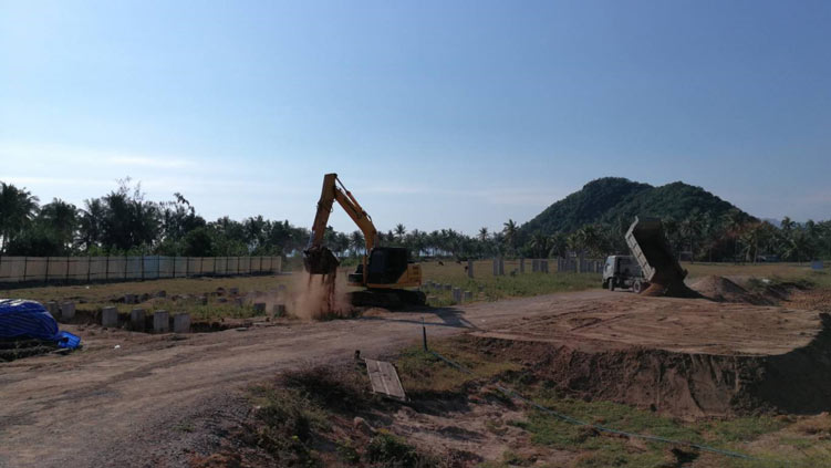 marina construction in thailand