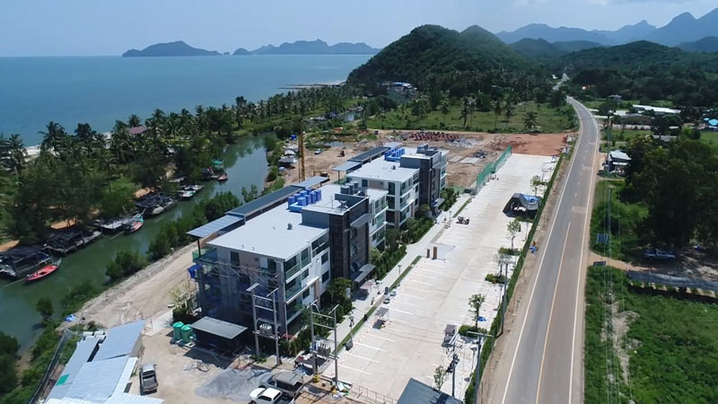 construction grand marina hua hin